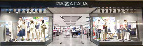 Piazza Italia sviluppo retail in franchising