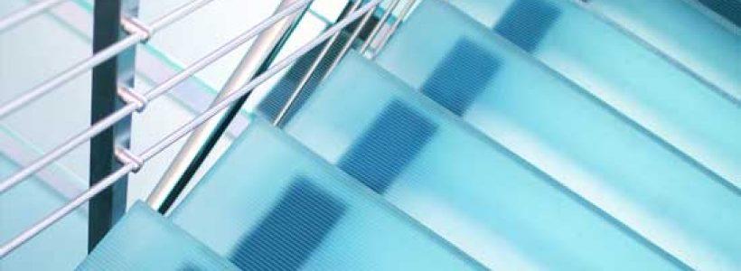 Linea Flooring redesigns anti-slip glass.