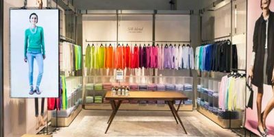 "United Colors of Benetton and the shop that transforms itself  WELCOME TO ""ON CANVAS"""