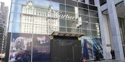 CARTIER opens temporary store until renovation of Manhattan flagship
