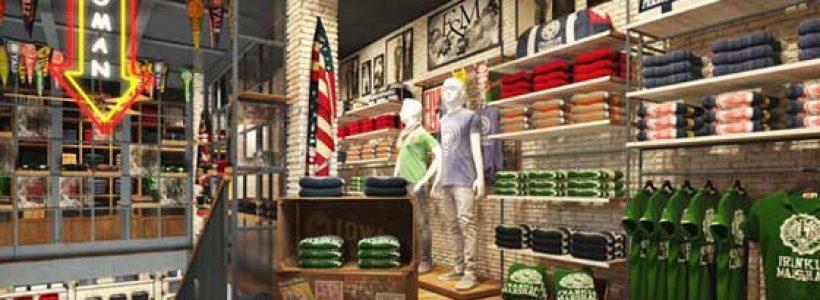 Primo store nel Regno Unito per Franklin & Marshall.