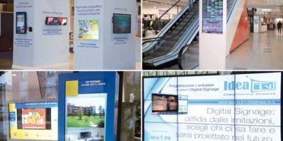 IDEA TV. Il Digital Signage progettato sulle tue esigenze.