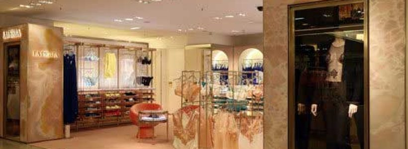 LA PERLA, nuovo concept per lo shop in shop da Printemps a Parigi.