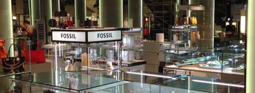 FOSSIL presente nel nuovo Department Store Coin Excelsior di Roma