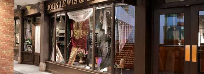 LUMSDEN celebrates 150 years of John Lewis.