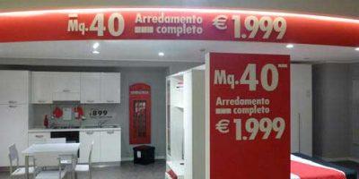 PASOLINI Spa firma il restyling della comunicazione visiva di due punti vendita Mercatone Uno