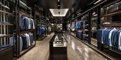 CANALI: nuovo concept per la boutique di Roma.