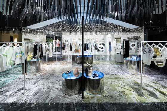 Schemata Architects ha firmato il pop-up store 3.1 Phillip Lim 2014