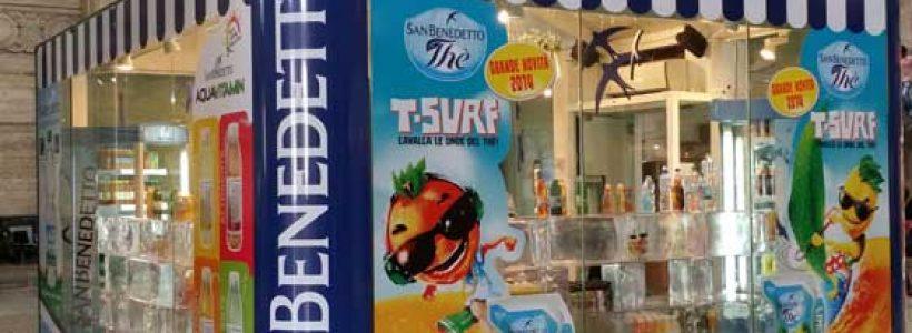 CASA SAN BENEDETTO il temporary store torna in Stazione Centrale a Milano.
