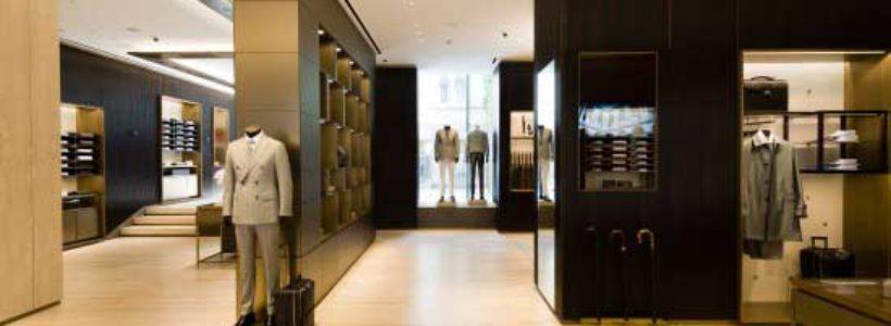 BRIONI: a Milano la boutique più grande del mondo.