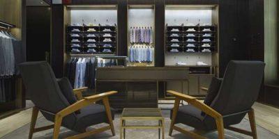 BRIONI new Milan flagship store.