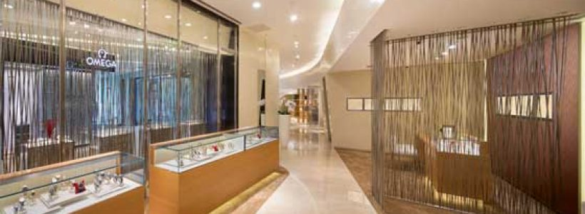 OMEGA Opens its Flagship Store at Oriental Plaza in Beijing.