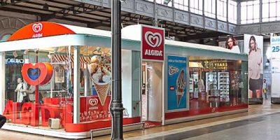 Temporary store ALGIDA.