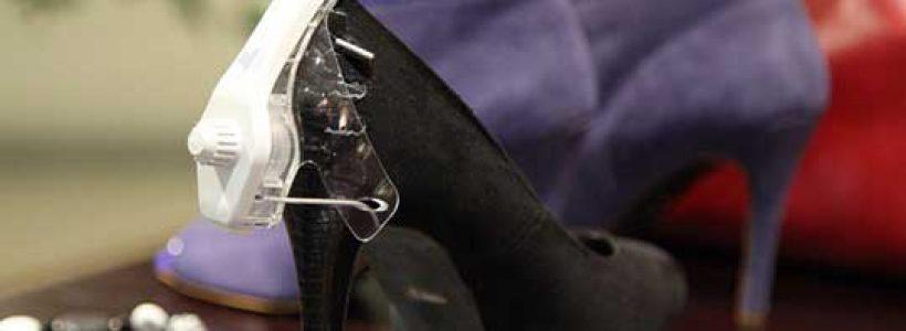 Etichetta per calzature TYCO Retail Solutions.