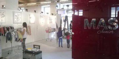 Vetrine d'eccezione e installazioni spettacolari create da FUSINA per Pitti Uomo e Milano Fashion Week