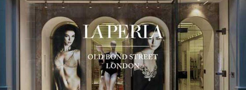 LA PERLA flagship store Londra.