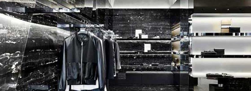 Piuarch progetta la prima boutique LES HOMMES a Milano.