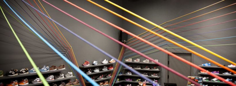 RUN COLORS Sneaker Shop Poznań, Poland.