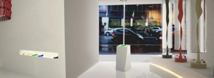 Corso temporary shop retail design di an for Poli design milano