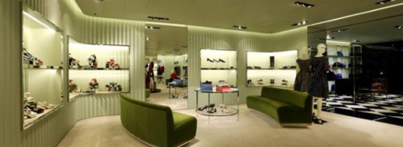 PRADA opens new store in Taichung, Taiwan.