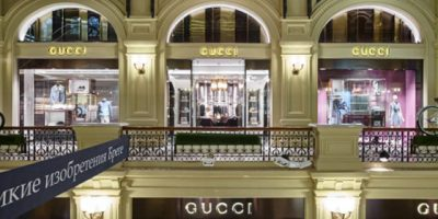 GUCCI apre due boutique a Mosca