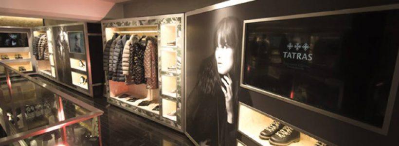 TATRAS Tokyo's Flagship store