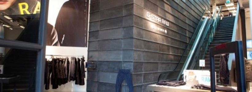 Nuovo flagship store G-STAR RAW a Milano.