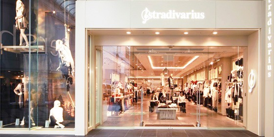 STRADIVARIUS Osaka flagship store