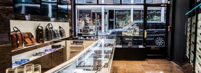 TATEOSSIAN Opens Men's Flagship Store in London.