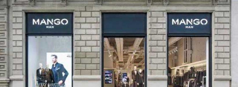 MANGO: a Barcellona un nuovo negozio dedicato alla linea maschile Mango Man.