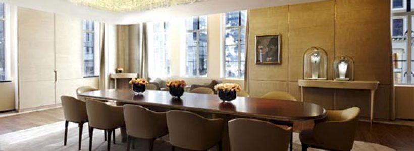 Van cleef arpels nuovo concept per la boutique di new for Arredamenti interni da sogno