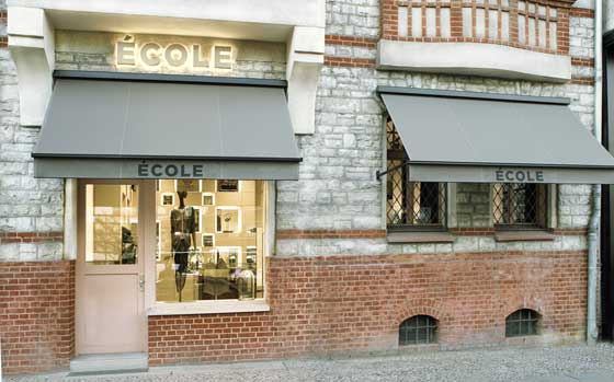 architect Adrian Bleschke ECOLE BOUTIQUE BERLIN
