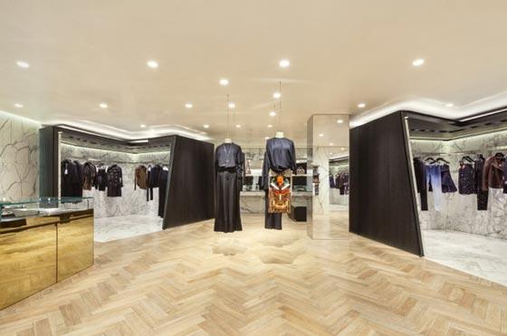 Il nuovo flagship store Givenchy di Seoul progettato dallo studio Piuarch