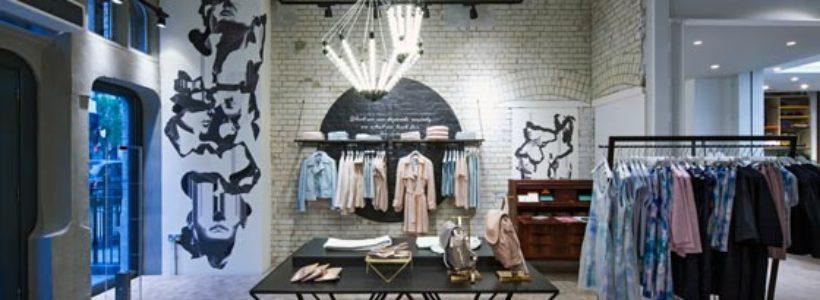 Nuovo concept store per Emporium JIGSAW di Londra.