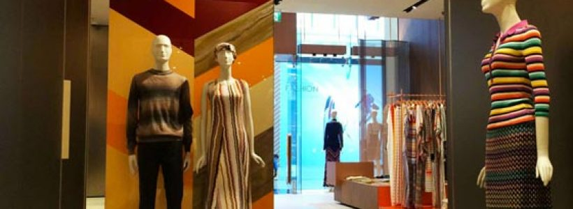 MISSONI celebrates the re-opening of the Dubai Boutique with a brand new store concept