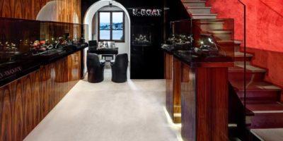 Alessandro Luciani firma due nuovi punti vendita U-Boat.