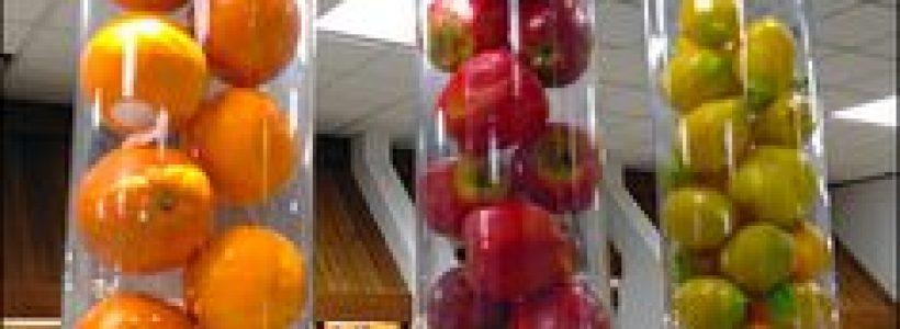 Visual merchandising, il segreto per stimolare gli acquisti di frutta.