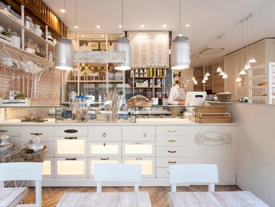 Costa Group arreda la gelateria pasticceria Don Nino di Roma