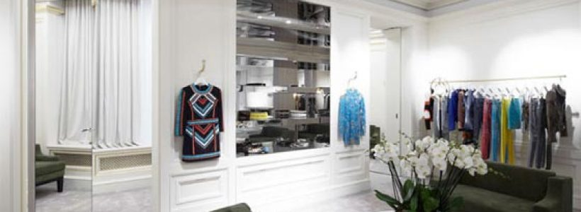 Primo flagship store a Londra per BALMAIN.