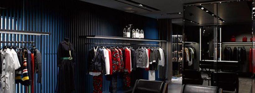 DSQUARED2: a Londra lo store più grande del mondo.