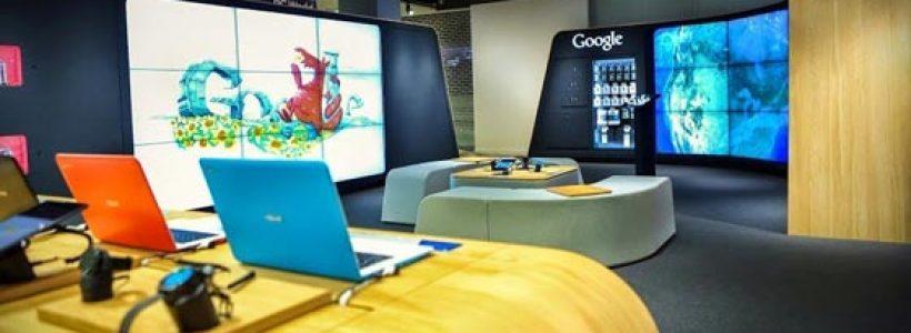 Google apre il primo shop a Londra.