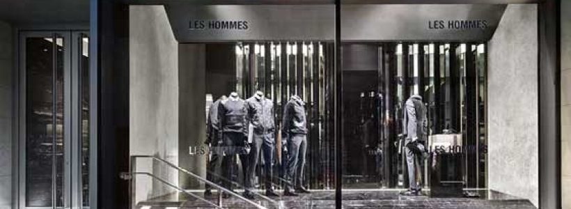 Piuarch designs the first Les Hommes boutique in Milan.