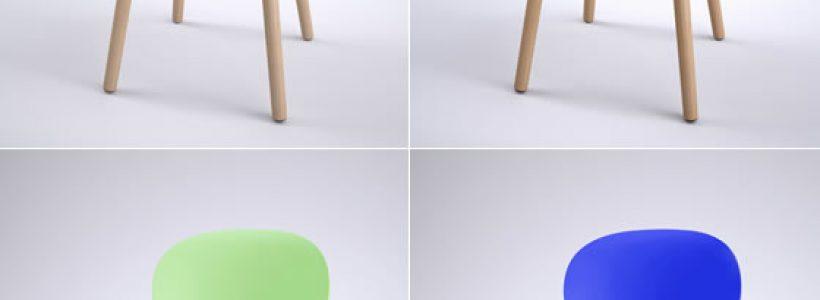 REXITE riedita la sedia Olivia nella nuova versione Olivia Wood.