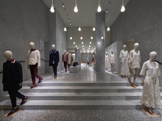 Valentino flagship store Roma AN retail design
