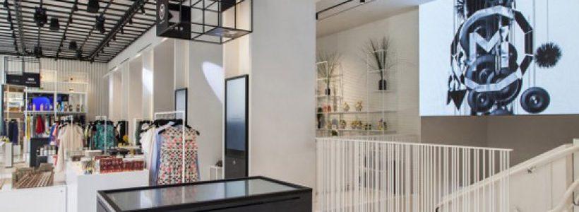 M COLLECTIVE store Milano: aperta la prima boutique con l'Interactive Shopping Experience