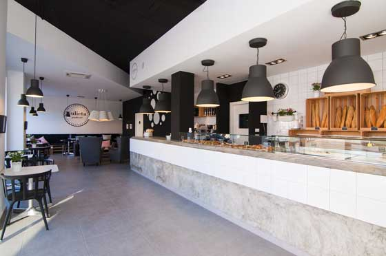 JULIETA PAN & CAFE  designed by Estudio Vitale