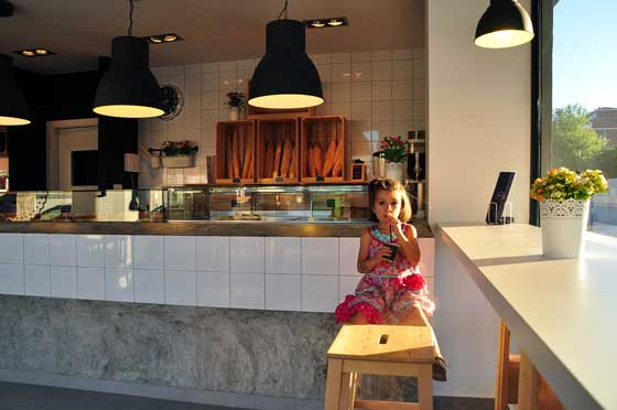 Progetto JULIETA PAN & CAFE by Estudio Vitale