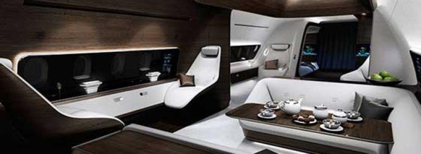 MERCEDES BENZ STYLE, cabine super lusso per gli aerei Lufthansa.