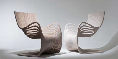 PIPO CHAIR by Alejandro Estrada. Un pezzo di design che nasce da un monolite.
