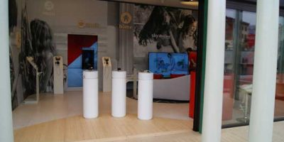VODAFONE pop-up-store. Expo 2015: Milan the perfect place.
